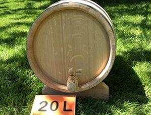 Oak barrel 20L