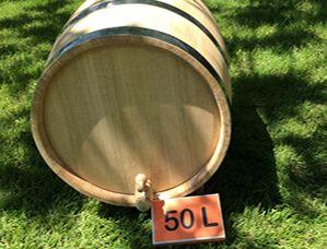 Oak barrel 50L