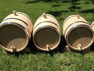 Oak barrels 100L