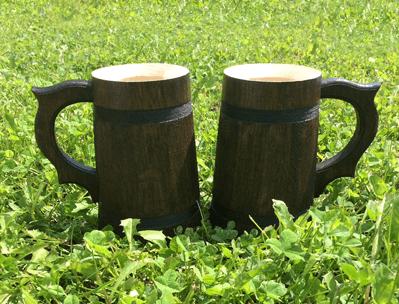 Oak mugs