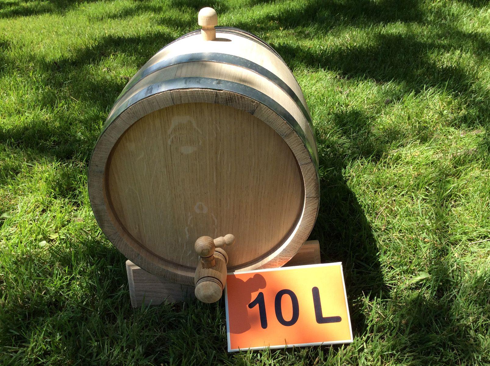 Oak barrel 10L