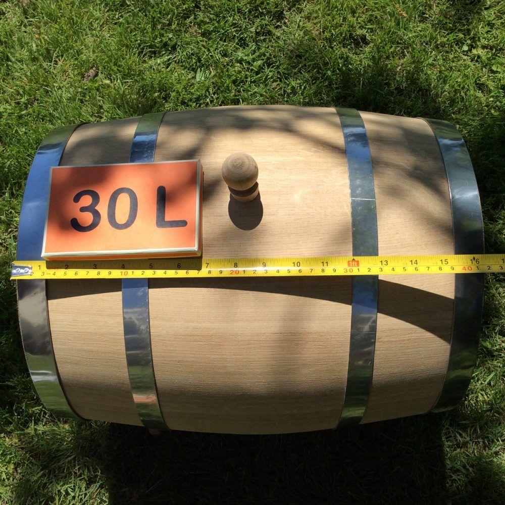 Oak barrel 30L