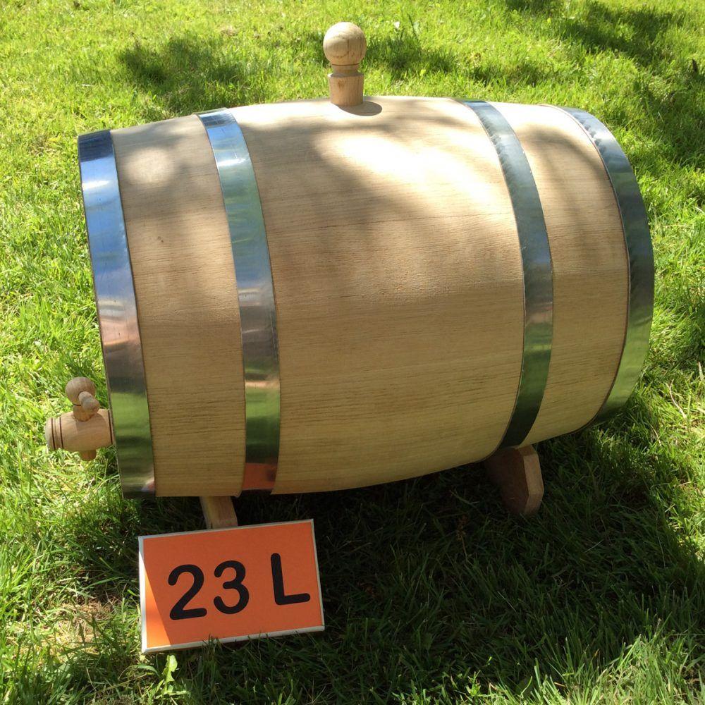 Oak barrel 23L